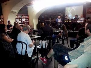 Promocija romana ''Klarina ljuljaška'' u knjižari Plato