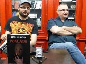 Promocija zbirke priča ''Poklade'' Gorana Skrobonje