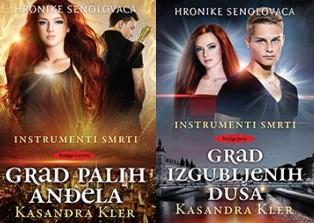 "Četvrta i peta knjiga iz serijala ""Instrumenti smrti"" Kasandre Kler: ""Grad Palih anđela"" i ""Grad izgubljenih duša"""