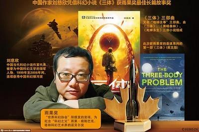 """Liu Sižin """"The Three-Body Problem"""""""