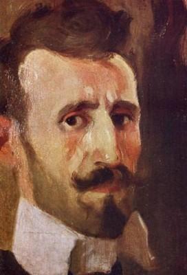 Kosta Miličević - autoportret