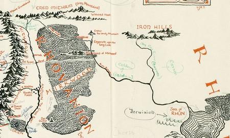 Tolkinova mapa Srednje zemlje