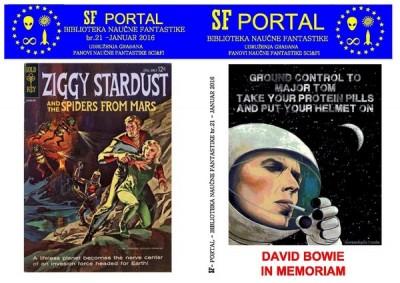 SF Portal #21 posvećen Dejvidu Bouviju