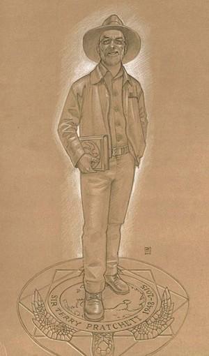 Skica Pračetove statue