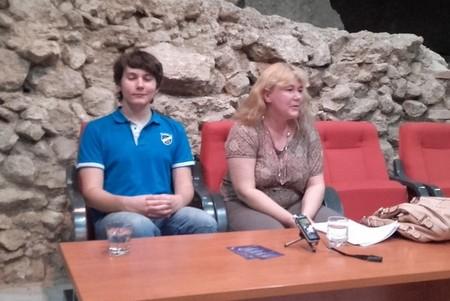 Nebojša Galić i Nataša Tučev