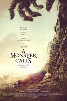 Plakat za film A Monster Calls (U Orfelinovom izdanju Sedam minuta posle ponoći)