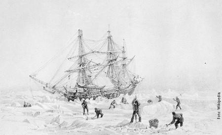 ''Teror'' zarobljen u arktičkom ledu