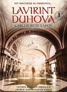 """Lavirint duhova"" – novi roman Karlosa Ruisa Safona"