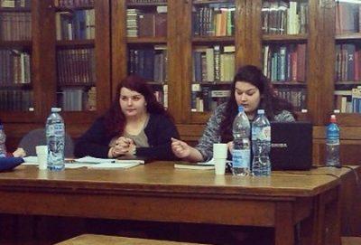Na 55. skupu slavista Srbije Marijana i Milica Jelisavčić održale su izlaganje na temu ''Gogoljeva pripovedna proza u kontekstu srpske horor fantastike u 19. veku''