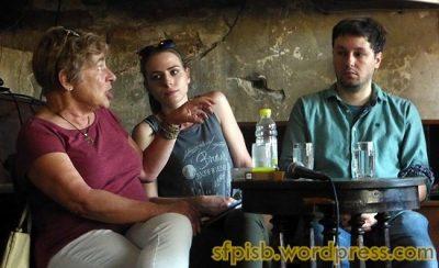 Prof. dr Ljiljana Gavrilović, Nađa Bjelica i dr Mladen Stajić