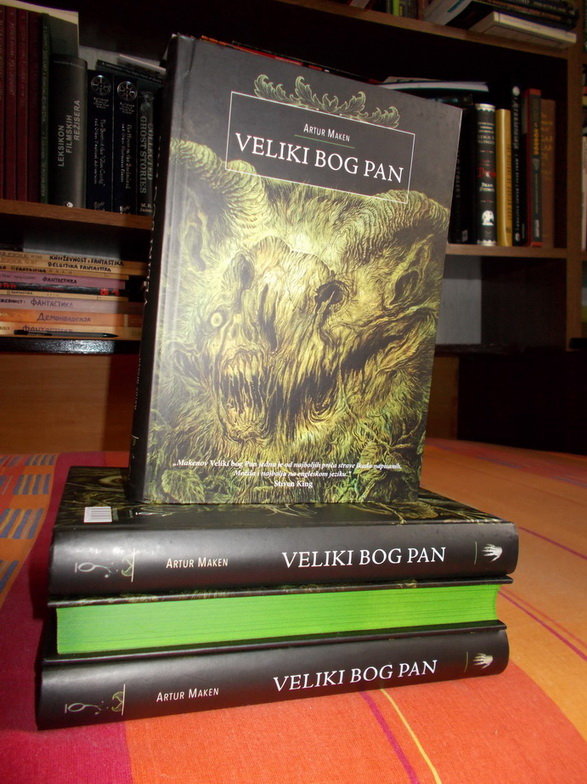 Novi naslov u ediciji Poetika strave - ''Veliki bog Pan'' Artura Makena