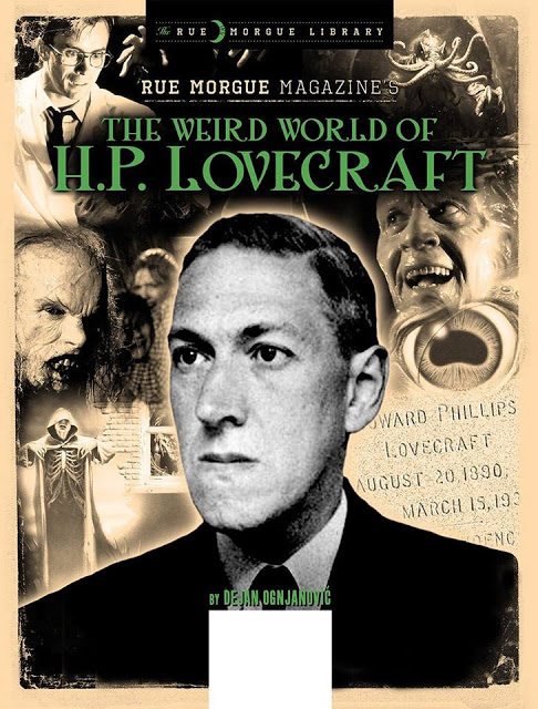 Naslovnica knjige Dejana Ognjanovića ''The Weird World of H.P. Lovecraft''