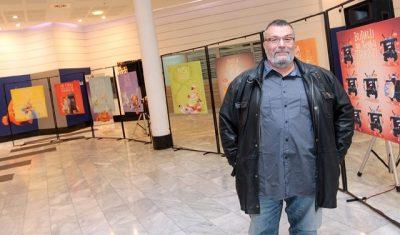 Humanitarna izložba Dobrosava Boba Živkovića otvorena je do kraja novembra.