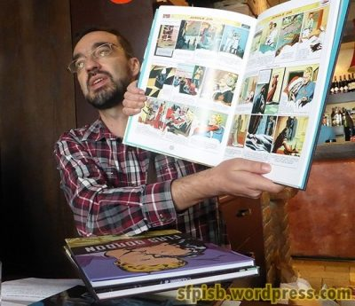 Borislav Pantić predstavlja novi tom stripa Flaš Gordon