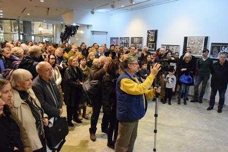 Otvaranju je prisustvovao veliki broj posetilaca