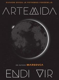 ''Artemida'' - novi roman Endija Vira u knjižarama