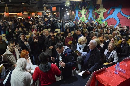 Promociju je ispratio veliki broj posetilaca