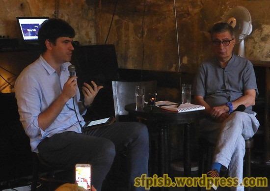 Razgovor sa Savom Damjanovim vodio je književni kritičar Miloš Jocić
