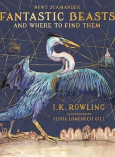 Luksuzno izdanje knjige ''Fantastične zveri i gde ih naći''