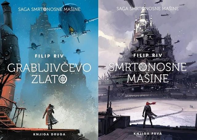 Smrtonosne mašine i Grabljivčevo zlato - uskoro stižu i preostali romani tetralogije Filipa Riva
