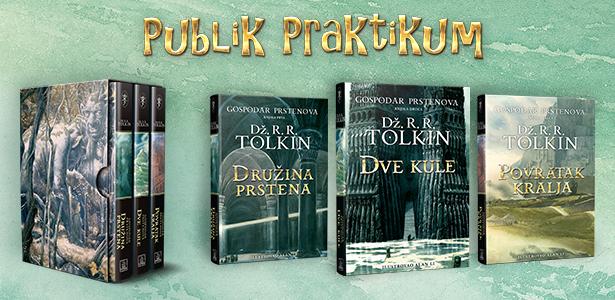Luksuzno izdanje trilogije GOSPODAR PRSTENOVA