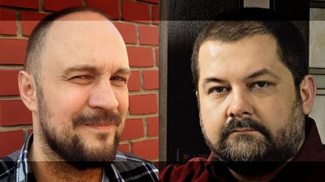 Oto Oltvanji i Sergej Lukjanenko