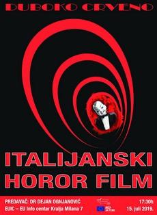 Predavanje Dejana Ognjanovića o italijanskom hororu