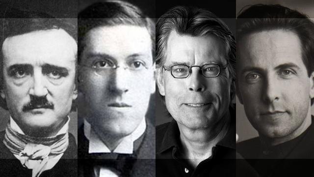 Veliki majstori horora: Edgar Alan Po, Hauard Filips Lavkraft, Stiven King i Klajv Barker