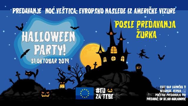 Noć veštica - Evropsko nasleđe iz američke vizure