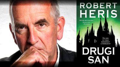 Ilija Bakić predstavlja roman DRUGI SAN Roberta Herisa, kojim engleski autor vizionarski govori o dramatičnom kraju tehnološkog doba.