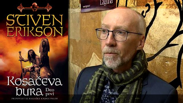 KOSAČEVA BURA - Stiven Erikson