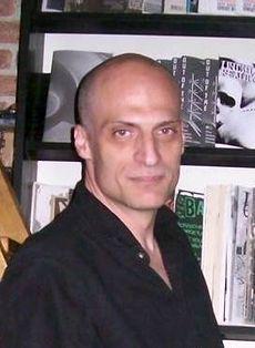 Jovan Ristić - autor romana POPLAVLJENI UM