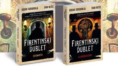 Ilija Bakić predstavlja roman u dve knjige FIRENTINSKI DUBLET zapaženih autora književne fantastike Gorana Skrobonje i Ivana Nešića.